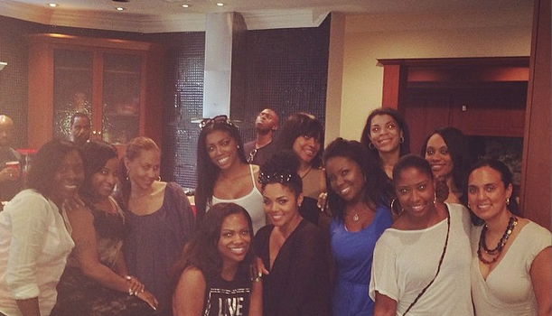 [Candids] Kandi Burruss Hosts Birthday Party For LHHA's Rasheeda + Porsha Williams, Monyetta Shaw, Lil Scrappy Spotted