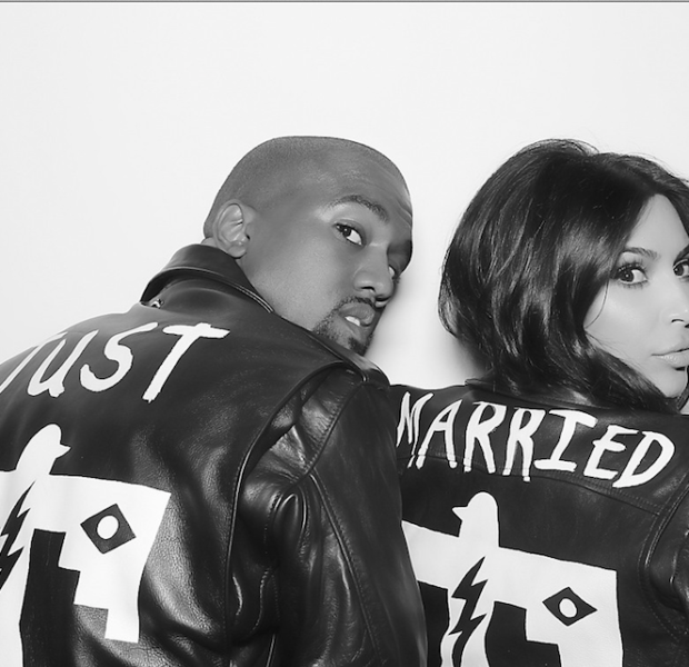 Just Married! Kim Kardashian & Kanye West Release Official Wedding Photos