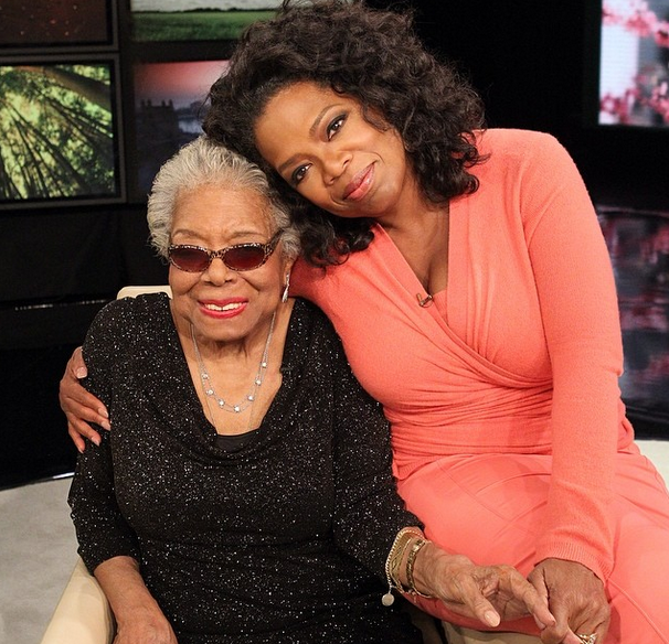 Oprah Pens Open Letter Mourning Loss of Maya Angelou: 'I loved her & I know she loved me.'