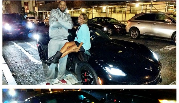 [Rich In Love] Lala Anthony Buys Hubby Melo New Corvette for 30th Birthday