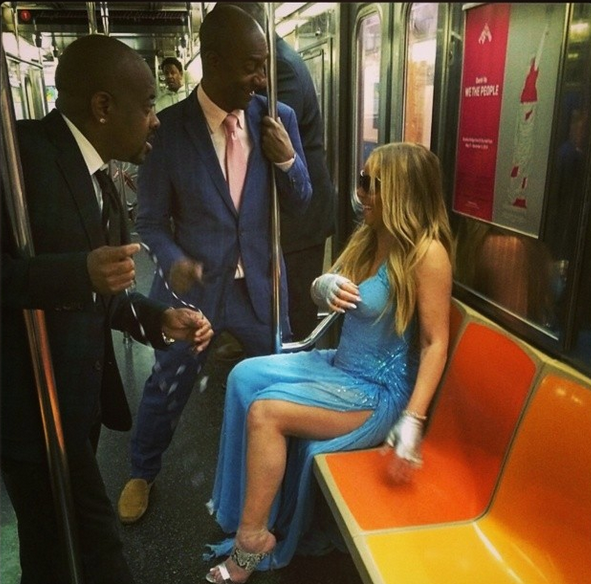 Celebrity Stalking: Mariah Carey Rides Subway, Natalie Nunn Announces New Show + Maxwell, Keshia Knight Pulliam, President Obama & Ludacris