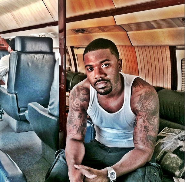 [UPDATE] Ray J Arrested! Singer Allegedly Batters Police, Spits On Officer & Kicks Out Window