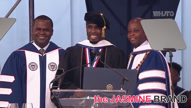 [VIDEO] Dr. Sean 'Diddy' Combs Receives Honorary Degree + Watch Full Howard University Commencement Speech