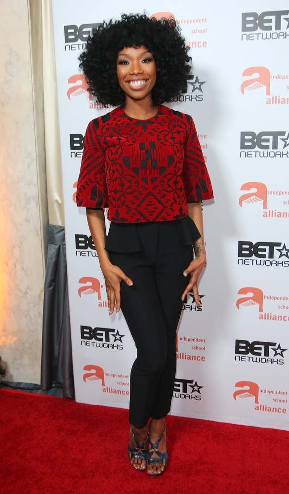 2014 Independent School Alliance and BET Network Impact Awards Dinner - Arrivals