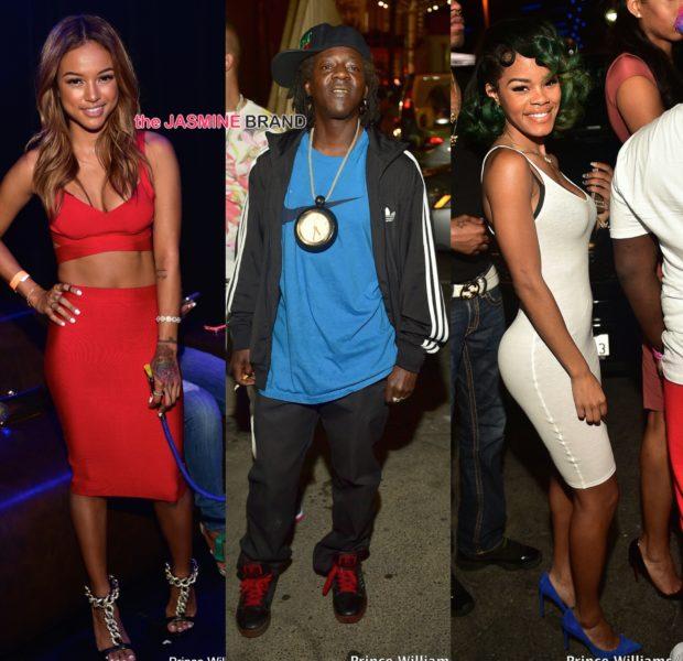 Celebrity Party Scene: Diddy, Karrueche, Flavor Flav, Meek Mill & Teyana Taylor