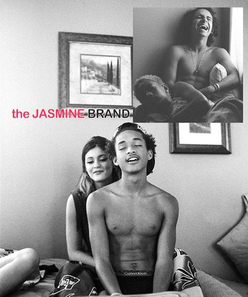 Shirt, Optional: Jaden Smith Poses Chest Naked With Girlfriend Kylie Jenner
