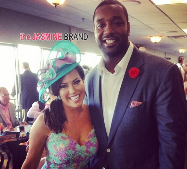 chris canty-celebs kentucky derby 2014-the jasmine brand