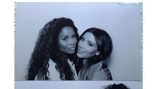 Look! Kim Kardashian's All White Bridal Shower