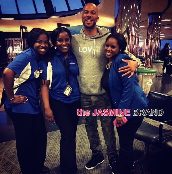 common-poses with airport staff-the jasmine brand