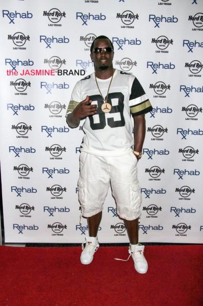 Sean Combs Hosts at Rehab Pool in Las Vegas on May 25, 2014