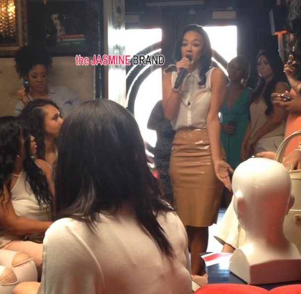 Ear Hustlin': Draya Michele Films Rumored Spin-Off, Hosts Women's Empowerment Brunch
