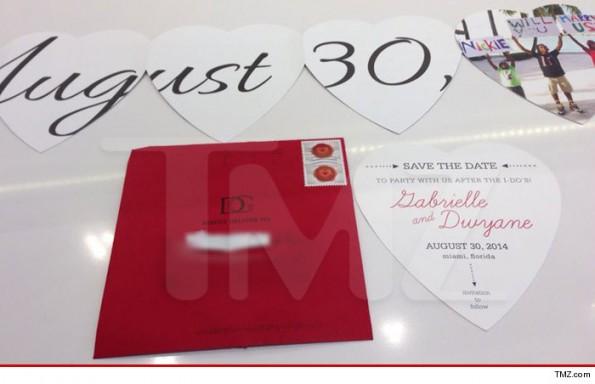 dwyane wade-gabrielle union-save the date-wedding invitation-the jasmine brand
