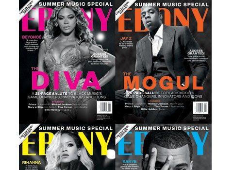 Sharing Is Caring: Beyonce, Jay Z, Rihanna & Kanye West Cover EBONY Magazine