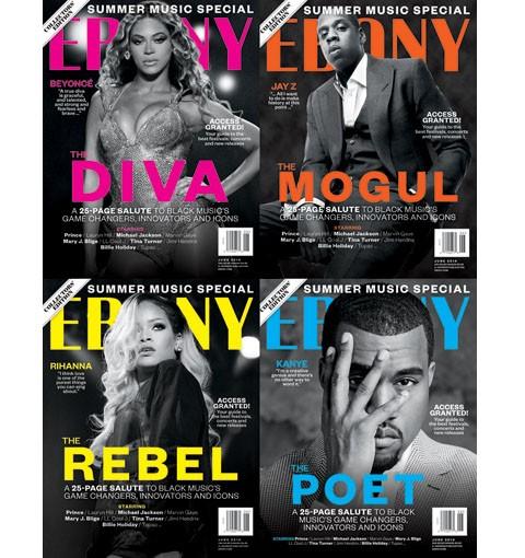 ebony magazine-rihanna-jay z-kanye west-beyonce-the jasmine brand