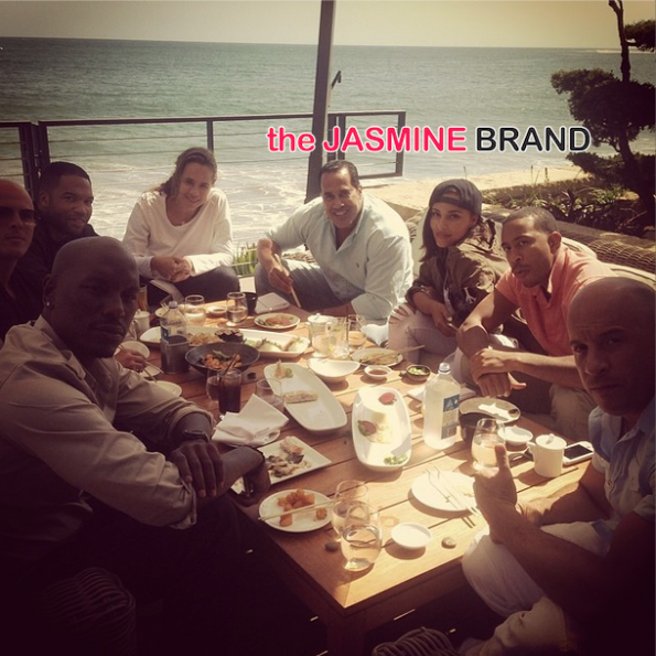 fast and furious 7-film in malibu-ludacris-tyrese-diesel-the jasmine brand