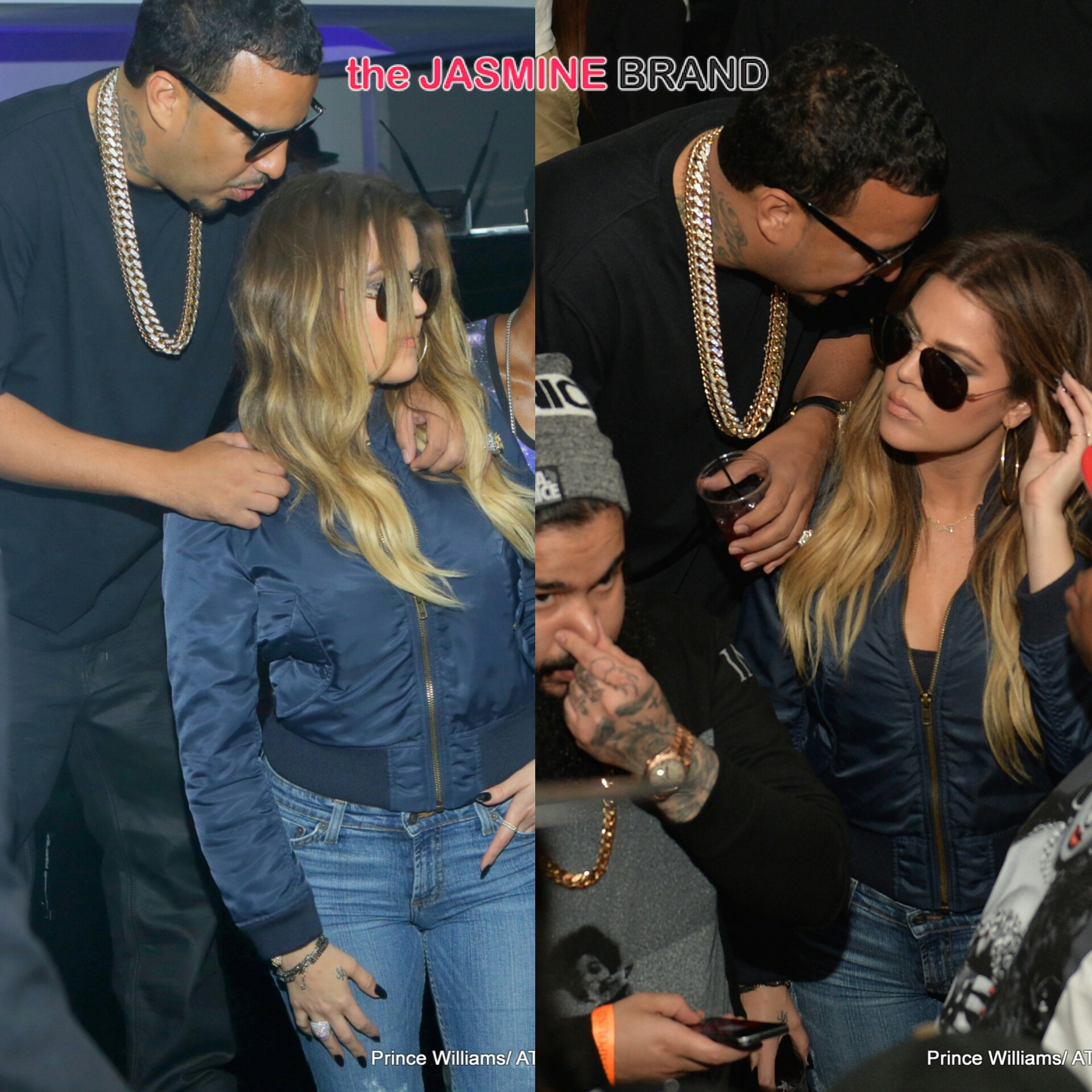 french montana-khloe kardashian-party atlanta compound-the jasmine brand