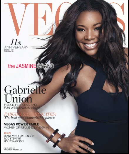 [Photos] Gabrielle Union's VEGAS Magazine Spread
