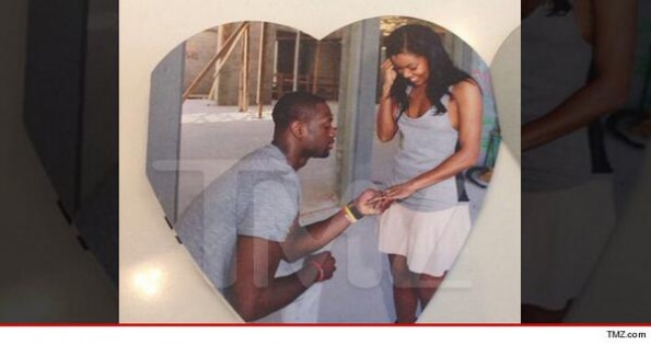 gabrielle union-dwyane wade-wedding invitation-the jasmine brand