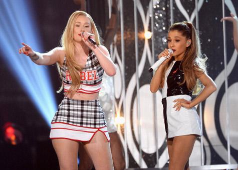[WATCH] Ariana Grande & Iggy Azalea Bring 'Problem' & 'Fancy' to Billboard Awards