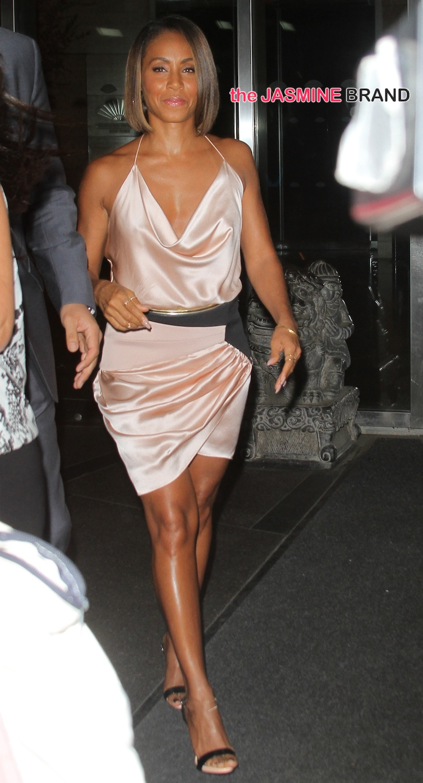 Jada Pinkett Smith seen leaving her hotel for an event in Central Park, NYC