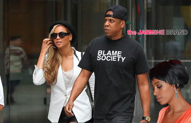 [UPDATED] Solange & Jay Z Were NOT Spotted in NYC + Did Name-Dropping Spark Elevator Explosion?