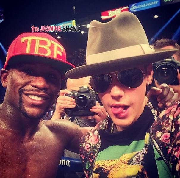 Celebs Attend Mayweather Fight: Justin Bieber, Lisa Raye, Kendrick Lamar, Diddy, Katt Williams, Rick Ross, Christina Milian, Diggy Simmons & Pooch Hall