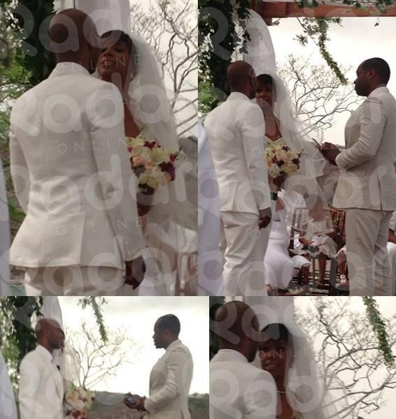 Blushing Bride! Kelly Rowland & Tim Witherspoon's Wedding Photos Revealed