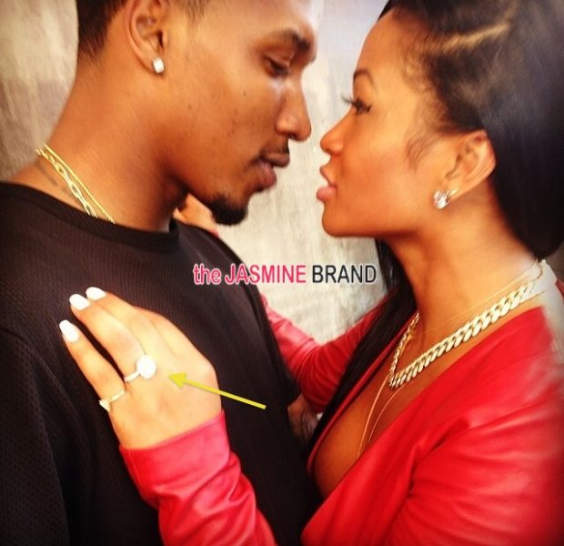 SHHHHH! Did Lashontae Heckard And Brandon Jennings Secretly Get Engaged?