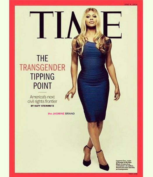 laverne cox-lands TIME magazine cover-orange is the new black-the jasmine brand