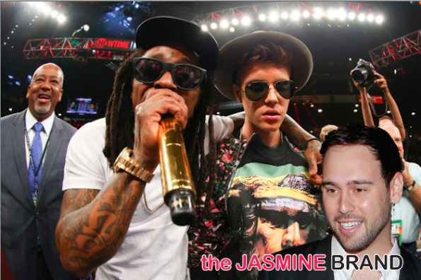 lil wayne-threatens justin beibers manager scooter-over lil twist-the jasmine brand