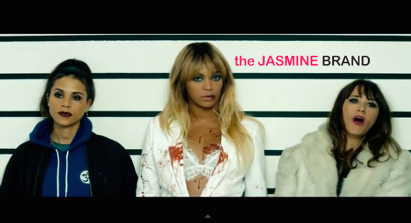 line up-rashida jones-jay z-beyonce-run video-the jasmine brand.jpg