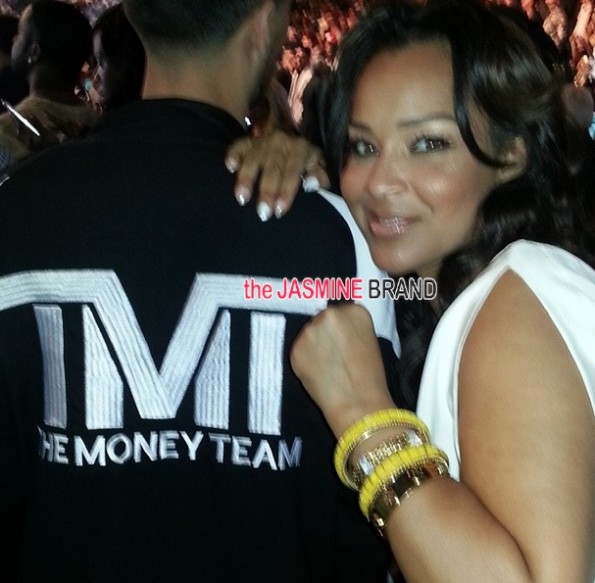 lisa raye-celebs-mayweather vs Marcos Maidana fight 2014-the jasmine brand