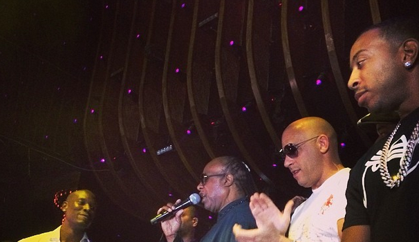 Tyrese Hosts 'For Our Girls of Nigeria' Benefit Concert: Stevie Wonder, Vin Diesel & Angela Simmons Spotted