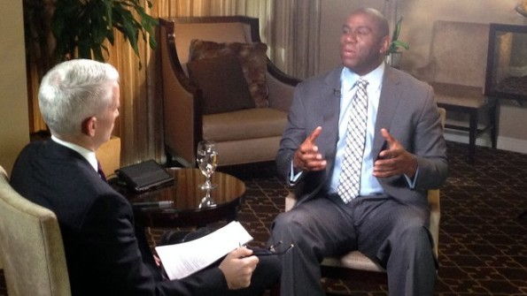 magic johnson-sit down with anderson cooper-the jasmine brand