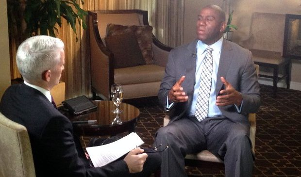 [VIDEO] Magic Johnson Says He's Praying For Donald Sterling + Watch His Full Anderson Cooper Interview