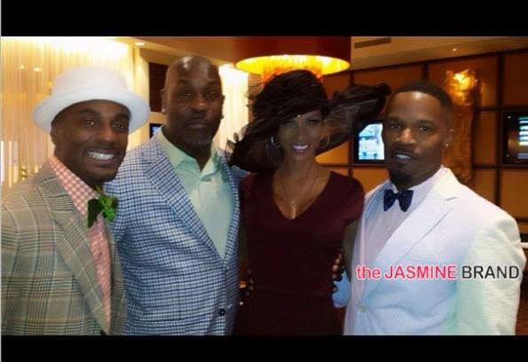nicole murphy-jamie foxx-celebs kentucky derby 2014-the jasmine brand