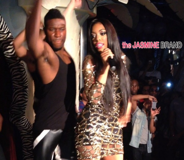 [VIDEO] Porsha Williams Brings 'Flatline' Performance to NYC