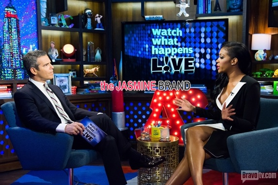 porsha williams-watch what happens live 2014-the jasmine brand