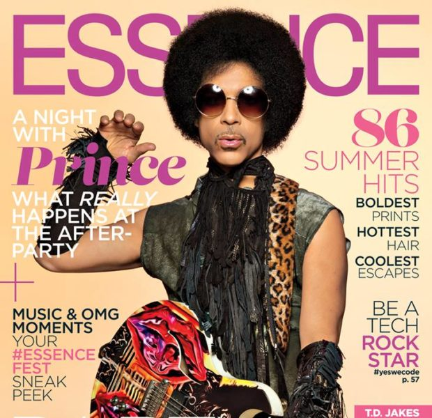 Rock Star Stuntin' : Prince Covers ESSENCE Magazine