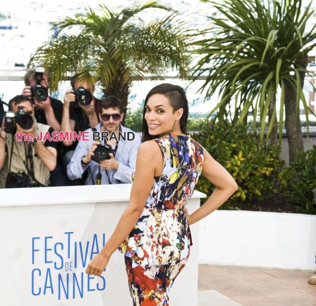Celebrity Stalking: Rosaria Dawson At Cannes, J.Lo's Stunning Idol Look, Trina Lands At LAX + NeNe Leakes, Common, E.J. Johnson & Lupita Nyong'o