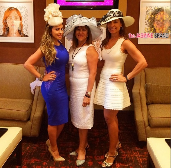 scottie pippen wife larsa-celebs kentucky derby 2014-the jasmine brand