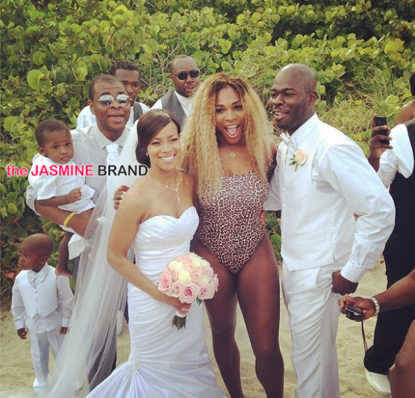 serena williams-wedding crasher-swimsuit-the jasmine brand