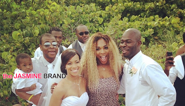 Hilarious! Serena Williams Crashes A Wedding In Her Leotard Swimsuit
