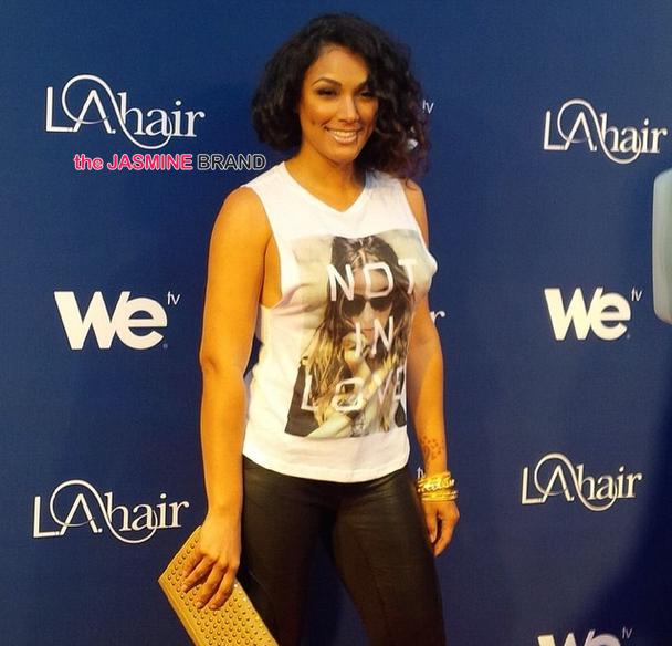 Kimble Hair Salon Los Angeles: [Candids] 'LA Hair' Season 3 Premiere Party: Kenya Moore