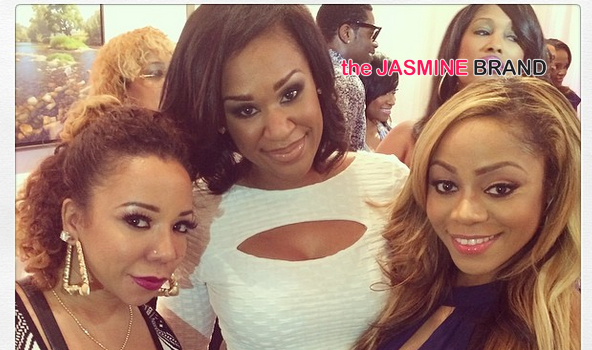[Photos] Kandi Burruss, Tameka 'Tiny' Cottles, Apollo & More Famous Folk Attend 'Sister 2 Sisters' Ladies Night Out
