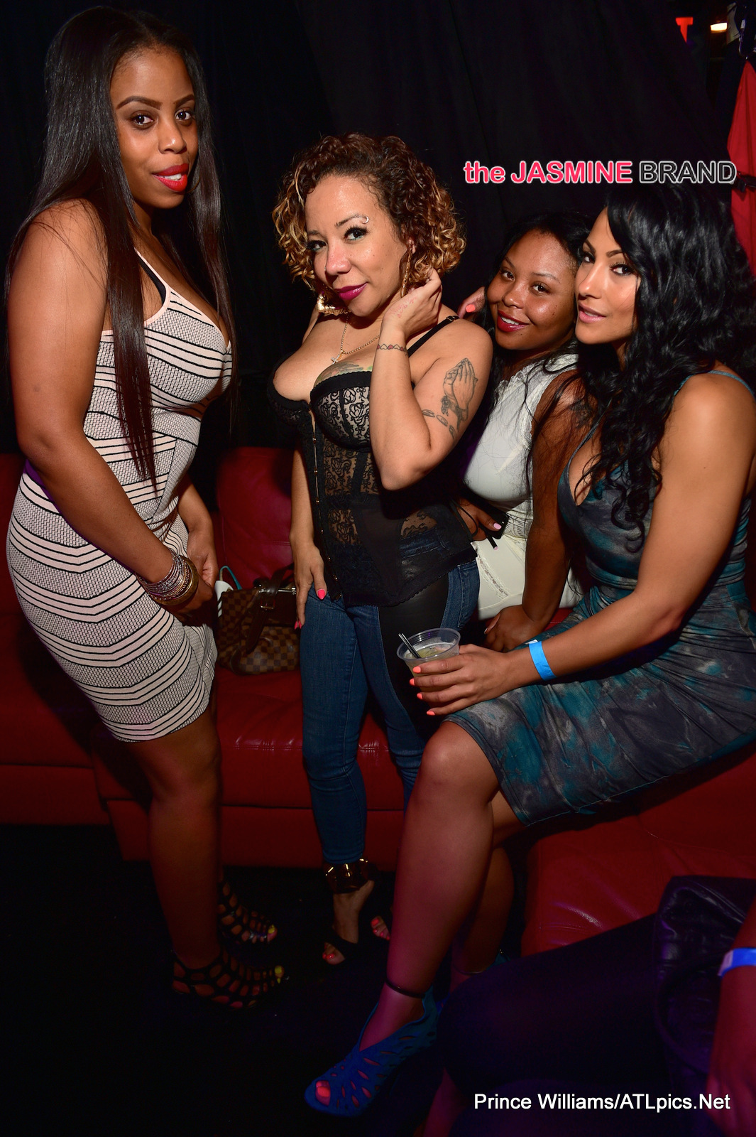 tameka tiny harris-attends mayweather memorial day party-the jasmine brand