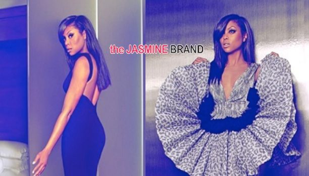 Stylin' On You Hoes: Taraji P. Henson Poses For VOGUE
