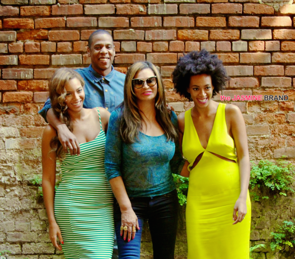 Beyonce, Jay Z, Tina Knowles, Solange