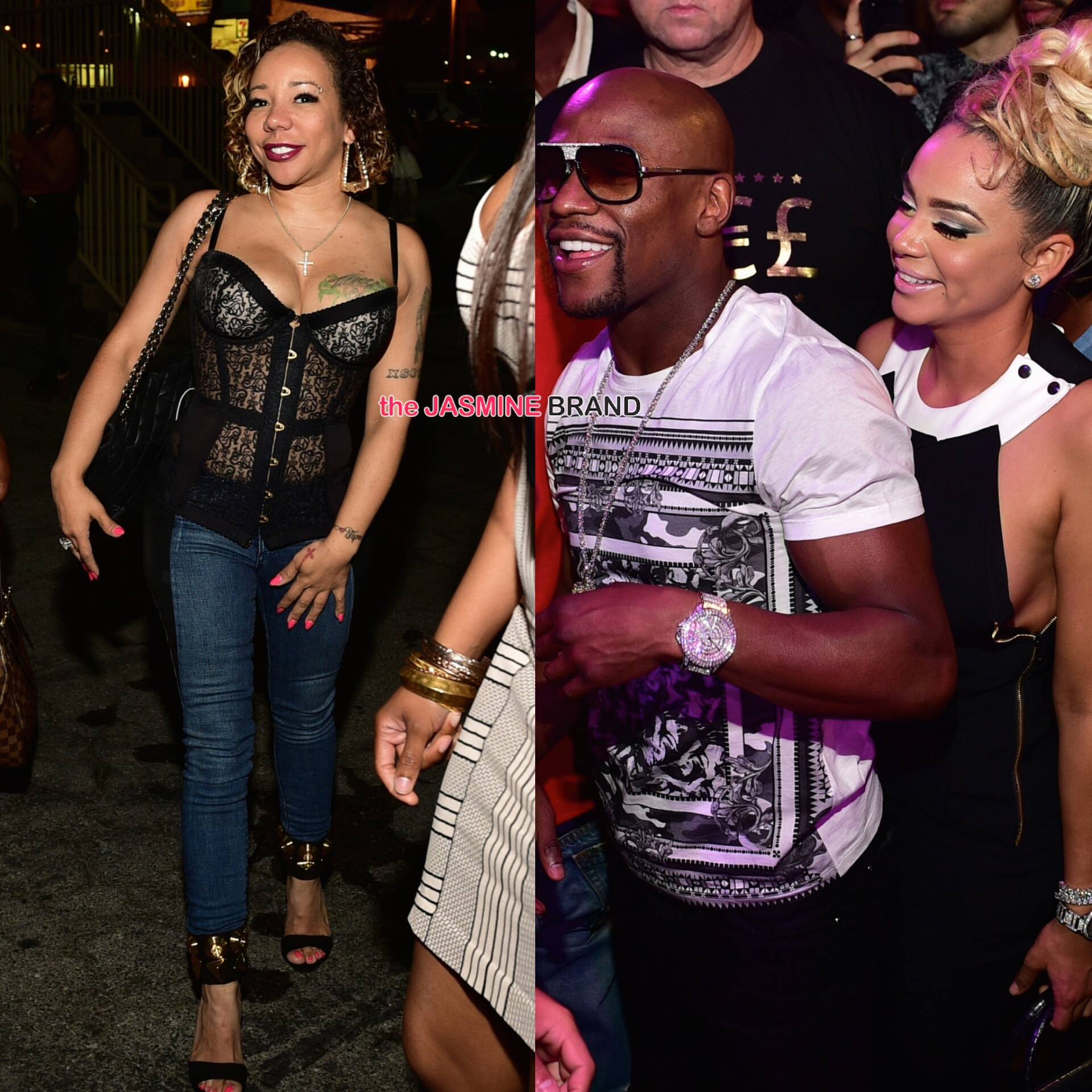 floyd mayweather parties with new girlfriend doralie bad