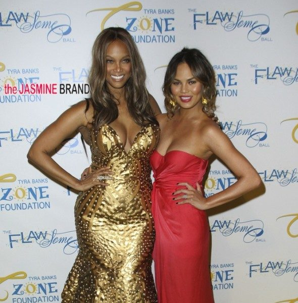 Alleged Drama Pops Off Between Tyra Banks & Chrissy Teigen On New Talk Show [Ear Hustlin']